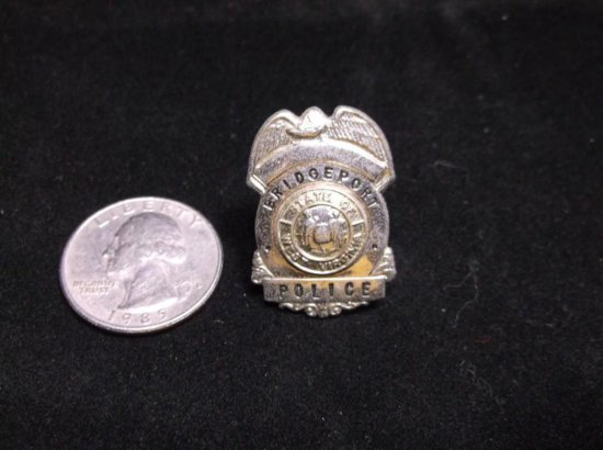 Vintage Bridgeport West Virginia Police Badge