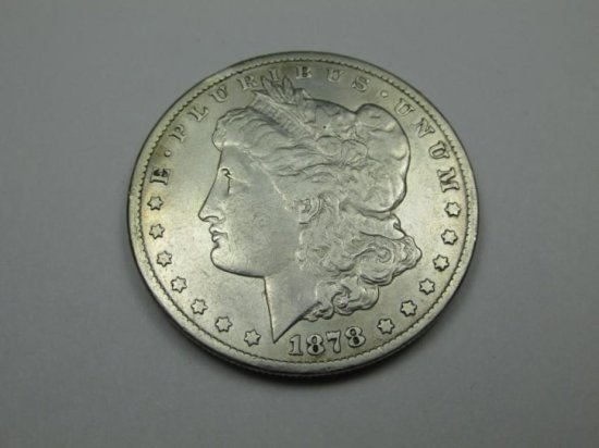 1878 Carson City Morgan Dollar Coin - Nice