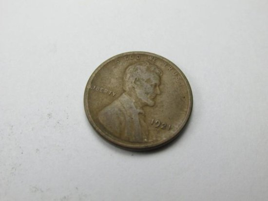 1921-s Lincoln Cent Coin