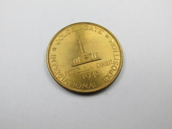1939 Golden Gate International Exposition Token