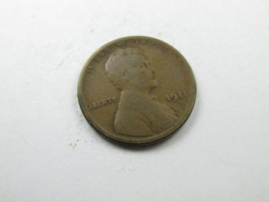 1911-s Lincoln Cent Coin