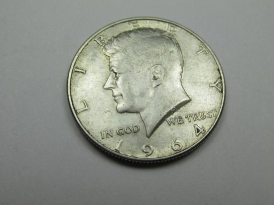 1964 Kennedy Silver 50 Cent Coin