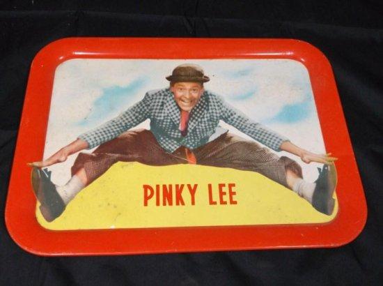 Vintage Pinky Lee Advertising Tray