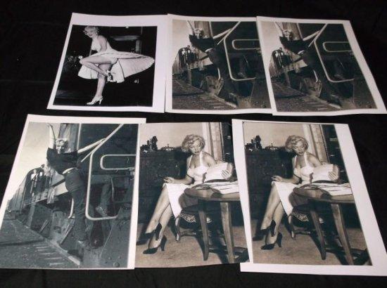 Group Lot Of Maryland Monroe Photo Prints