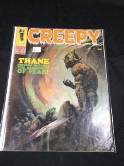 Creep June #27 Comic Book