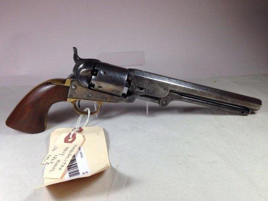 Rare Metropolitan Arms Civil War Era 36 Cal Navy Percussion Revolver