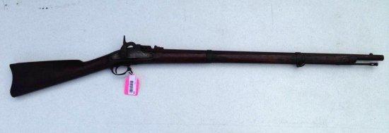 Rare Civil War Parker's Snow Rifle W/miller Rolling Block Breech Conversion