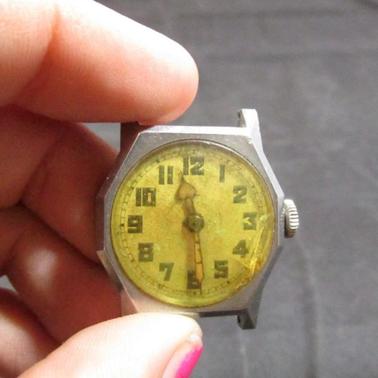 Antique Men's Swiss Watch