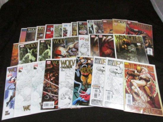 Wolverine Origins Variants (31 Books)