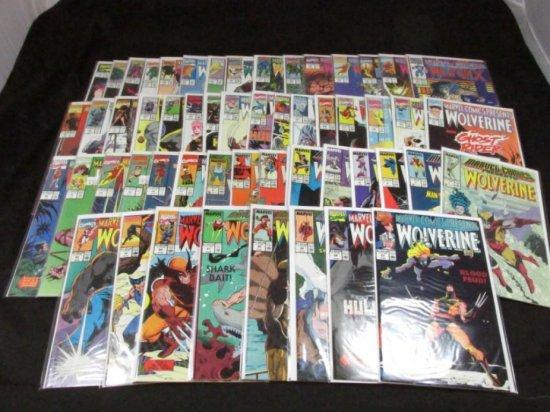 Marvel Comics Presents Wolverine (56 Books)