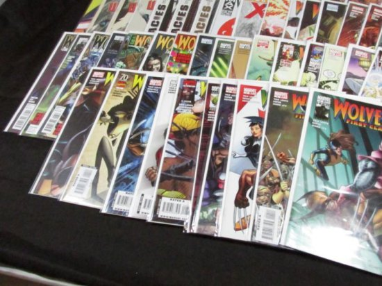 Wolverine Other Titles Lot with Variants (77 Books)