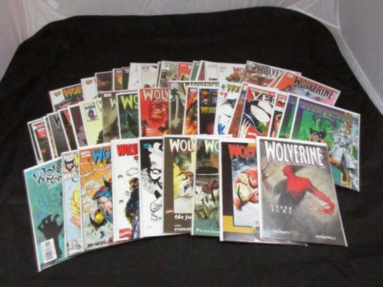 Lot 13: Wolverine One Shots with Variants (46 Books)