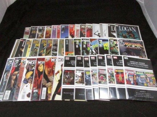 Wolverine Mini Series Lot 2 with Variants (45 Books) (All Full Runs)