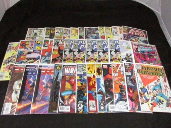 Wolverine Appearances In Other Titles (Part I) (38 Books)