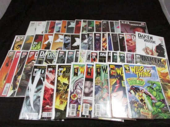 Wolverine Family Lot with Variants (57 Books)