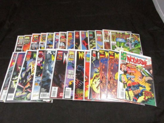 Wolverine Volume 2 Extras and Variants (27 Books)
