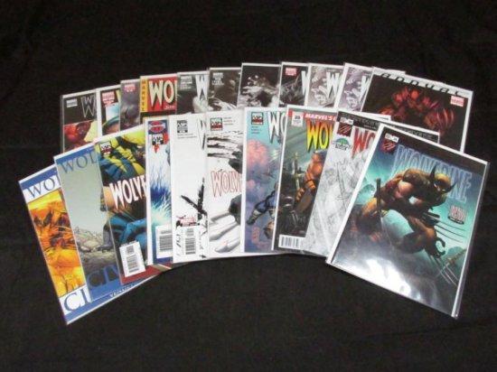 Wolverine Volume 3 - Variants (Part I) (23 Books)
