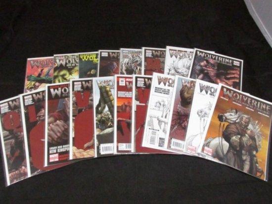 Wolverine Volume 3 - Variants (part II) (20 Books)