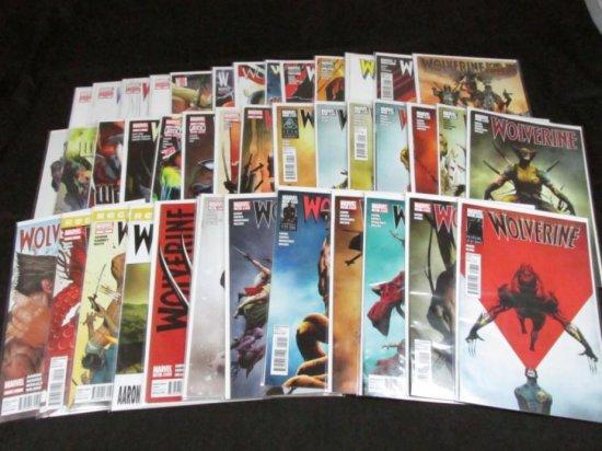 Wolverine Volume 4 & 5 with Variants and Extras (40 Books)