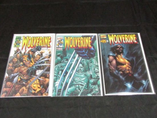 Wolverine Dynamic Forces Variants with COAs (3 Books)