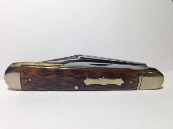 Nice Antique John Primble Bone Handled Folding Knife