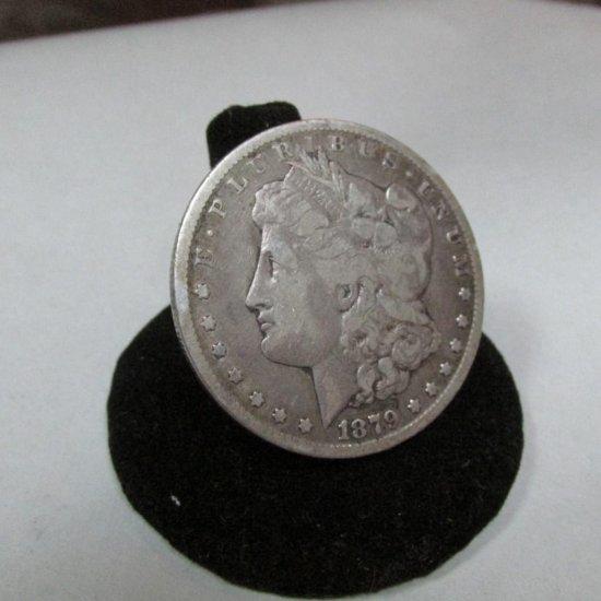 1879-cc Carson City Morgan Dollar Silver Coin