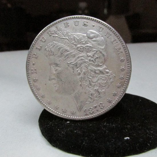 1878-s Morgan Dollar Silver Coin