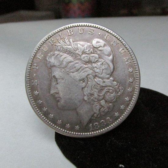 1883 Morgan Dollar Silver Coin