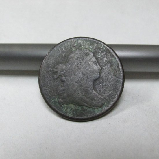 Draped Bust 1/2 Cent Coin