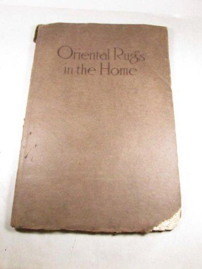 Unusual Rare Book - Oriental Rugs In The Home