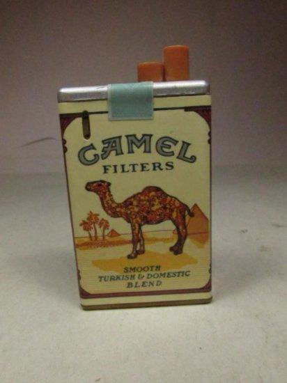 Vintage Camel Cigarette Pack Lighter