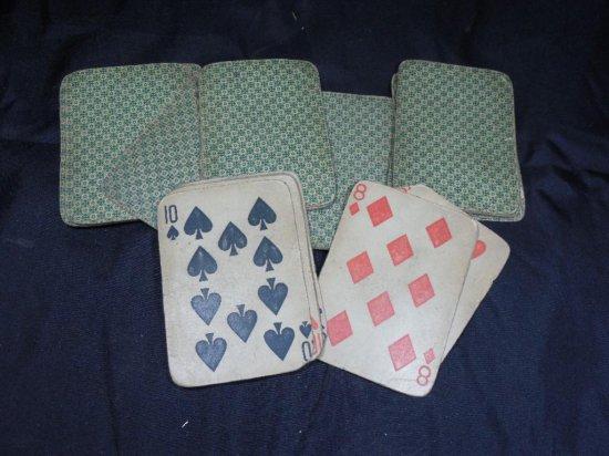 Antique Deck Of Cards
