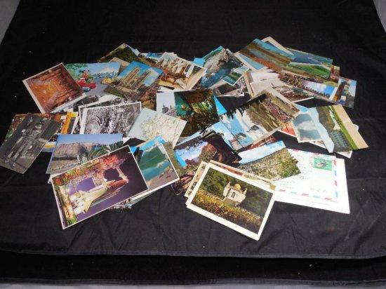 Big Group Lot Of Vintage Postcards