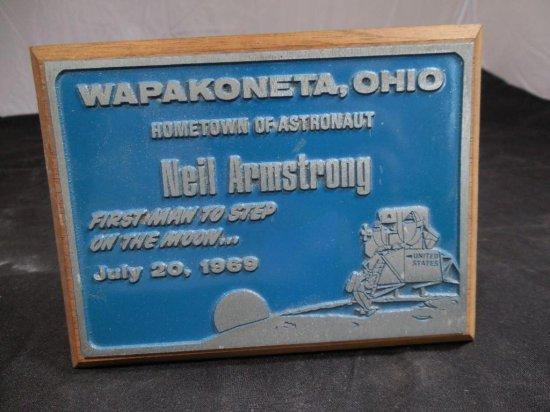 Wapakoneta Ohio Neil Armstrong Souvenir Piece