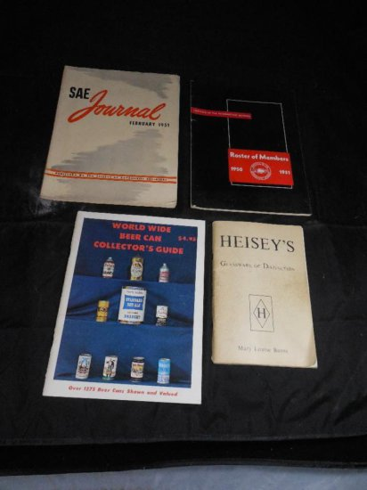 Group Of Four Collector Related Books