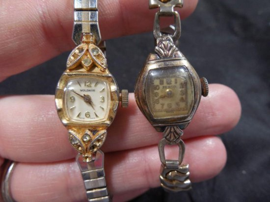 2 Antique Lady's Watches