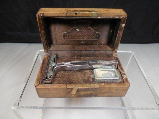 Rare Dehaven Razor Corp. Safety Razor W/accessories In Box