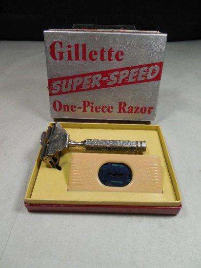 Gillette Super-speed One-piece Razor In Box
