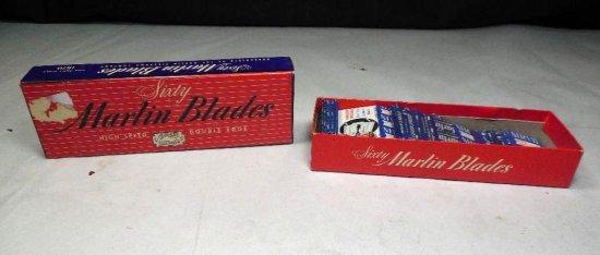 Vintage 60 Marlin Safety Razors In Box