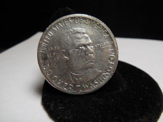 1946 Silver Booker T Washington Half Dollar Coin