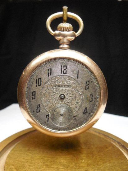 Antique Gold Filled Pocket Watch By Standard
