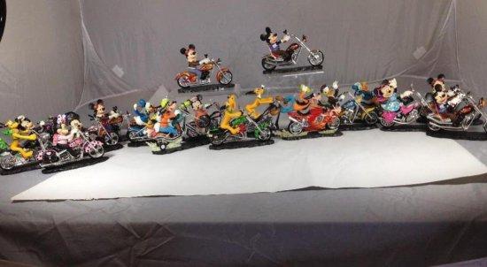 18 Mickey Mouse etc Disney Motorcycle Decorative Items