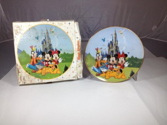 Mickey Mouse Disney Collector Plate