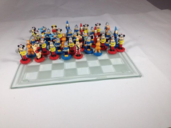 Disney Mickey Mouse and Friends Chess Set