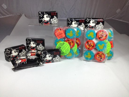 Group of Mickey Mouse Disney Soap