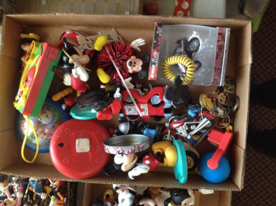 Group lot of small Mickey Mouse items