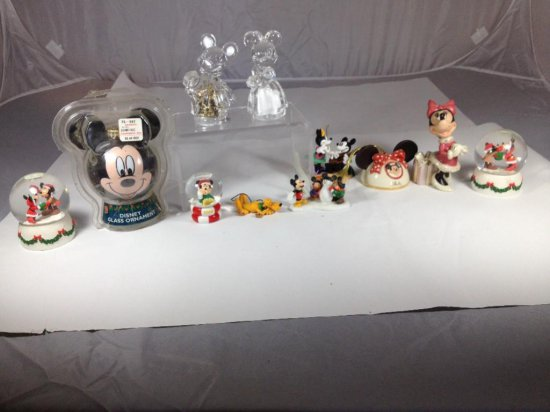 Group lot of Mickey Mouse items