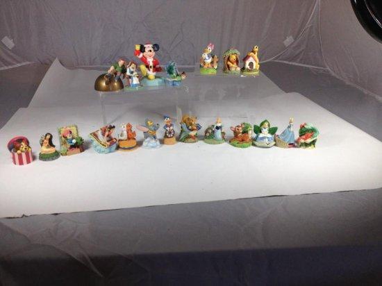 Group lot of Disney decorative items