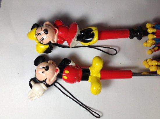 2 Mickey Mouse Umbrellas
