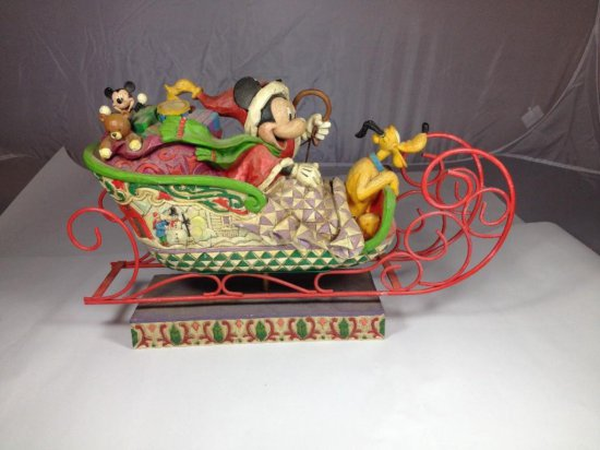 Mickey Mouse Decorative Christmas Shelf Piece